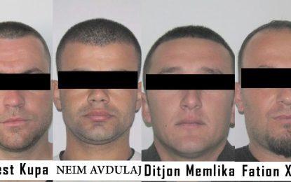 Bravo çuna të policisë/Arrestohet banda e rrezikshme e vjedhjes së bankave