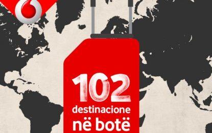 Vodafone Albania i vetmi operator që ofron eksperiencën 4G në 102 destinacione në botë