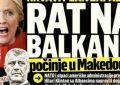 """Kriza në Maqedoni! Mediat Serbe """"bombardojnë"""" me shkrime, fajtorë janë: """"Rama dhe Thaçi"""""""