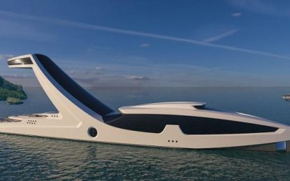 Arkitekti italian projekton jahtin e së ardhmes (FOTO)