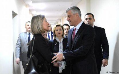 Mogherini në Kosovë: Votoni demarkacionin, merrni vizat