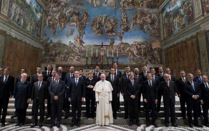 Festimet e BE: Papa pret krerët europianë