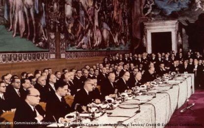 60 vjet / Ngjitjet dhe rëniet e Bashkimit Europian