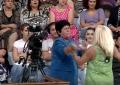 """Gruaja që ofendoi Berishën dhe protestën e PD, në 2015 """"rrahu"""" tezen live në TV (VIDEO)"""