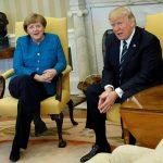 """Trump i hap """"Derën e Bardhë"""" Merkelit"""