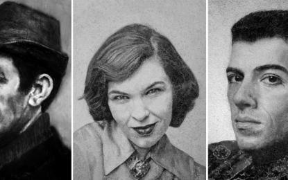 Artistja gjermane krijon portretet e njerëzve të vdekur me hirin e tyre
