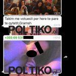 Plas SKANDALI, kryetarja e FRESSH dërgon foto porno në grupin e WhatsApp