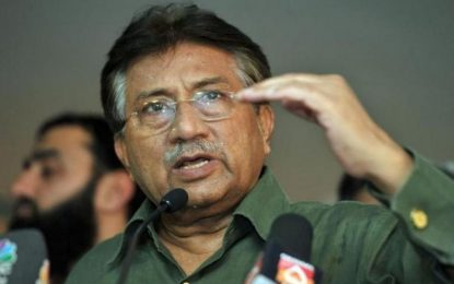 Ish-udhëheqësi pakistanez, Musharraf nis karrierë televizive