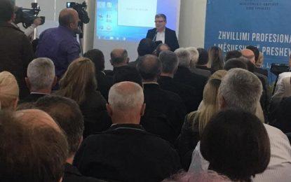 Mësuesit e Luginës së Preshevës trajnohen në Durrës