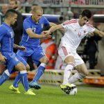 FOTO/ Mediat italiane publikojnë formacionet: Itali-Shqipëri