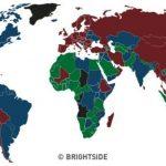 Ja pse kemi 4 ngjyra të ndryshme të pasaportave në botë