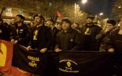 Plas në Maqedoni – Protesta kundër platformës shqiptare: Vdekje ose liri!