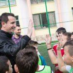 """Shtohen dy ambiente të reja sportive në shkollën """"Vasil Shanto"""""""
