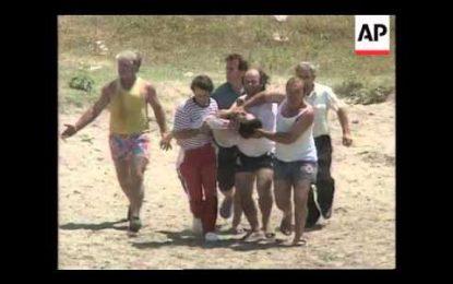 VIDEO/ Pamjet e luftës mes dy bandave në Vlorë, skena e një vrasje në vitin 1997