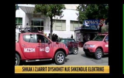 VIDEO/Flakët përpijnë librat e Bibliotekës Kombëtare në Tiranë