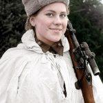 """""""Zonja Vdekje"""", snajperistja ruse që ka vrarë 309 nazistë"""