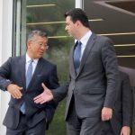 Donald Lu takim urgjent me Bashën