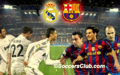 Barcelona mund në Madrid, Realin e Madridit, 3-2