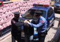 """Arrestohet i """"forti"""" i Tiranës, shëtiste rrugëve me pistoletë dhe """"Volkswagen"""" (VIDEO)"""