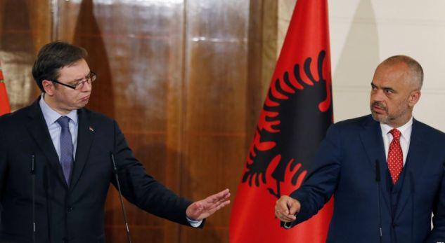 'Shqipëria e Madhe', Vuçiç ia 'plas' Ramës e Thaçit: Mos flisni më për bashkim!