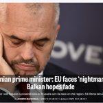 Edi Rama: Nëse nuk ka BE, Shqipëria do bashkohet me Kosovën