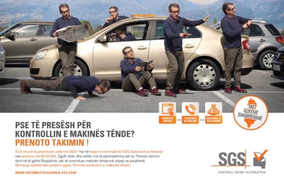 Kontrolloje makinën tënde, pa radhë! Rezervo online!