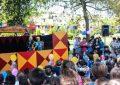 Teatri shëtitës i kukullave dhe cirku i Tiranës zbresin në Parkun Rinia