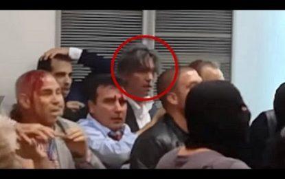 VIDEO/Pajme të rënda. Ja si huliganët maqedonas godasin Ziadin Selën