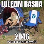 """Rama ironi me çadrën e Bashës, PD-ja i përgjigjet me """"funeralin"""" e PS"""