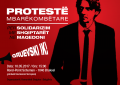 """Komuniteti shqiptar i Belgjikës, protestë mbarëkombëtare me thirrjen """"Gruevski ik"""""""