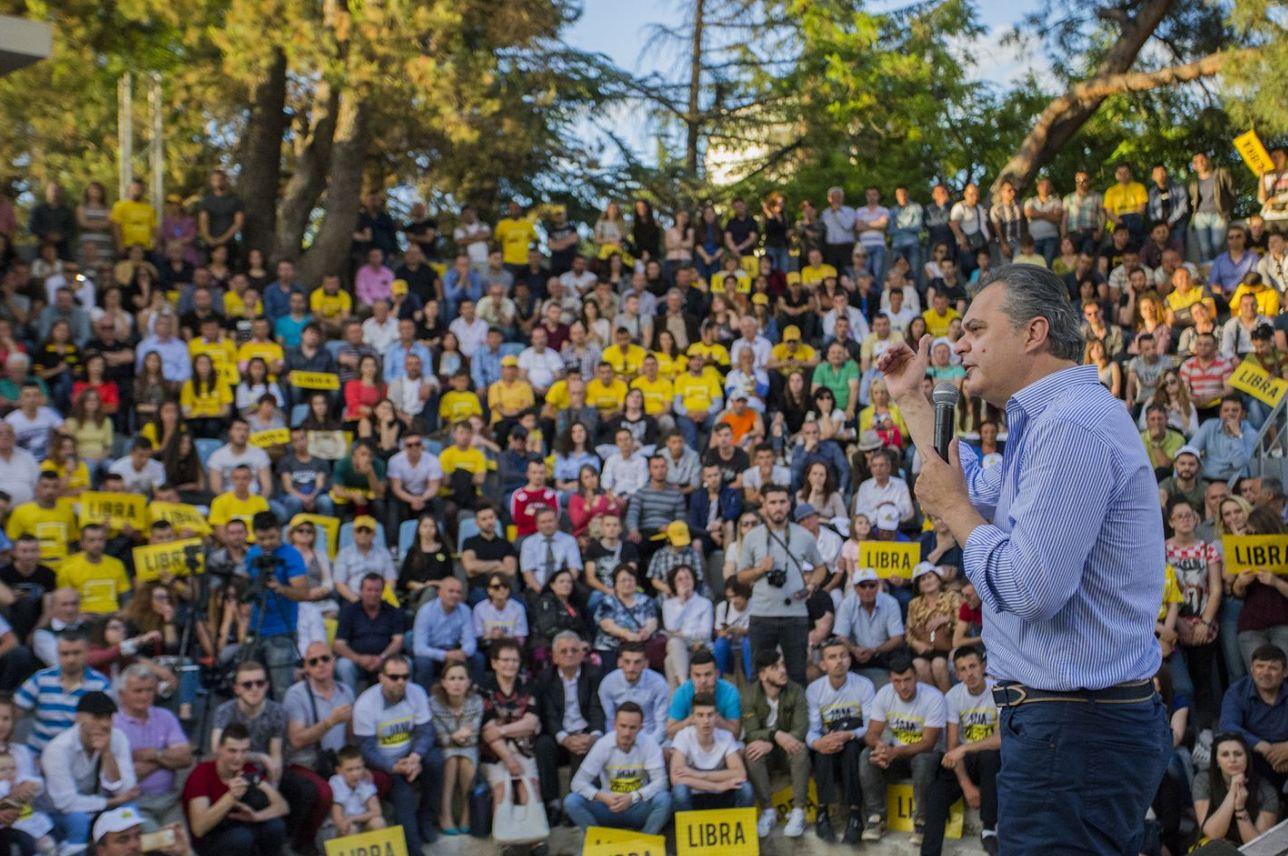 Blushi: LIBRA në Tiranë. Faleminderit për magjinë e fushatës