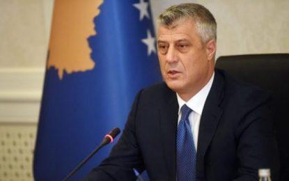 Thaçi: Aleanca e Kosovës me SHBA-të është e paprekshme