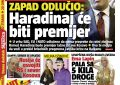 Perëndimi ka vendosur: Haradinaj do të jetë kryeministër