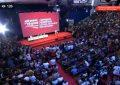 VIDEO/Konventa e LSI zgjedh Kryetarin e ri. Salla shpërthen: LSI, forcë e parë!