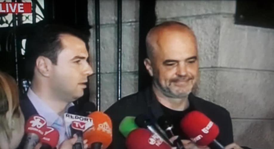 """""""Republika e re"""" e Lulzim Bashës me kryeministër të vjetër, Edi Ramën!"""