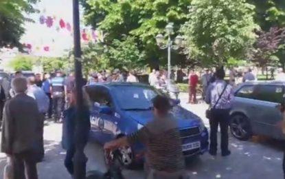 Shkodër/ Sherr mes Polisë Bashkiake dhe Policisë së Rendit për çadrën e Ramës