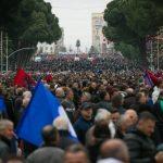 Sot protesta e madhe e Opozitës