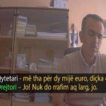 VIDEO – FOTO/ Kamera e fshehtë, për sa shitet drejtori i 'Rilindjes'?