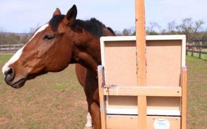 Kali që shpëtoi jetën e tij duke pikturuar