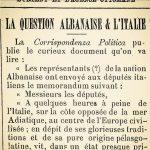 Viti 1901/Memorandumi i përfaqësuesve të Kombit Shqiptar dërguar deputetëve italianë