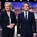 Marine Le Pen pranon humbjen, uron Macron