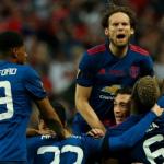 VIDEO  Manchester United fiton Europa League