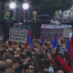 LAJMI I FUNDIT/ Mijëra protestues nisen nga rrethet, i bashkohen thirrjes në Tiranë