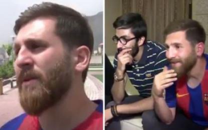VIDEO/ Njihni sozinë e Leo Messit që po fiton para prej pamjes së tij