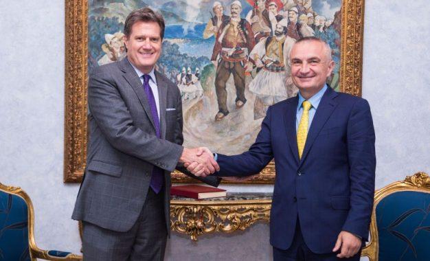 Kongresmeni i SHBA uron Ilir Metën për zgjedhjen President i Shqipërisë