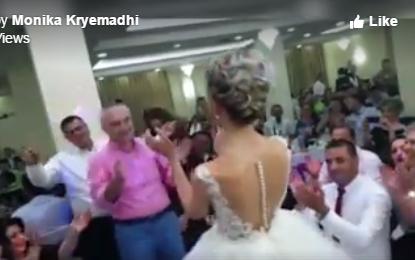 Ilir Meta kërcen me nusen në dasëm, Kryemadhi: U ndjeva pak 'xheloze', t'ia jap shansin…. (Video)