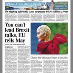 Rita Ora, në kopertinën e gazetës britanike The Times