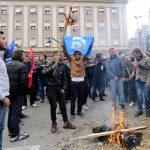 PROTESTA E OPOZITES - /r/n/r/nOPPOSITION PROTEST -