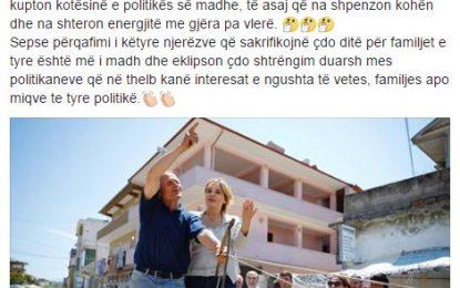 """Zonja e Parë, Monika Kryemadhi, """"lë"""" Presidentin për karrocierin!"""