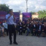 Rama takim elektoral në Sauk: Me Veliajn, Tirana ka marrë gjithë ritmin që humbi
